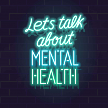 Men speaking about their Mental Health